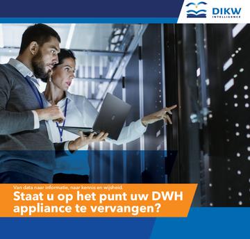 Datawarehouse appliance vervangen